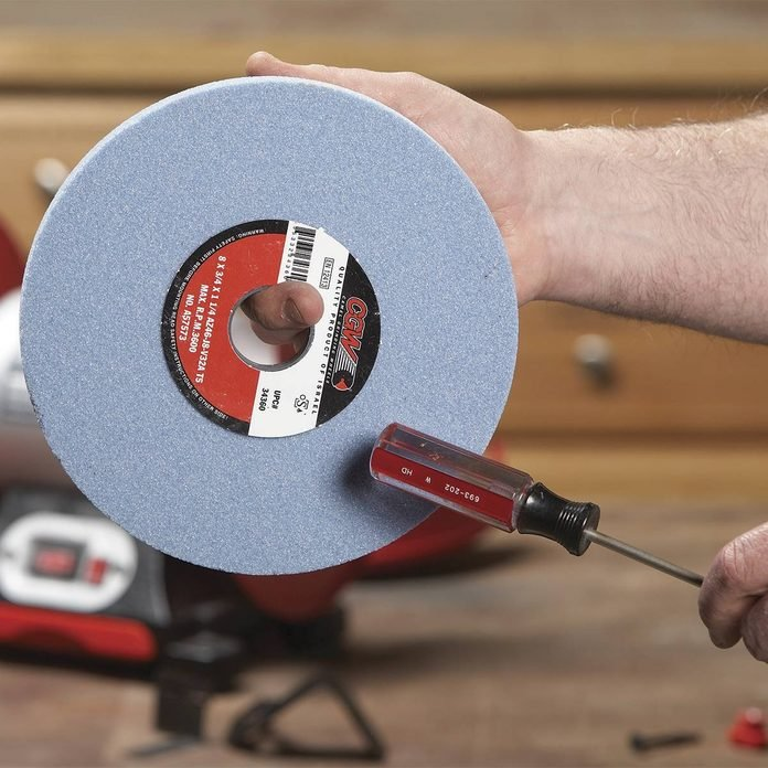 tapping grinder wheel