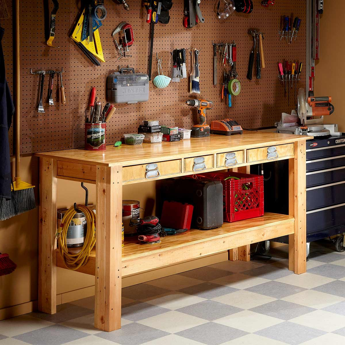 reader project: super bench — the family handyman