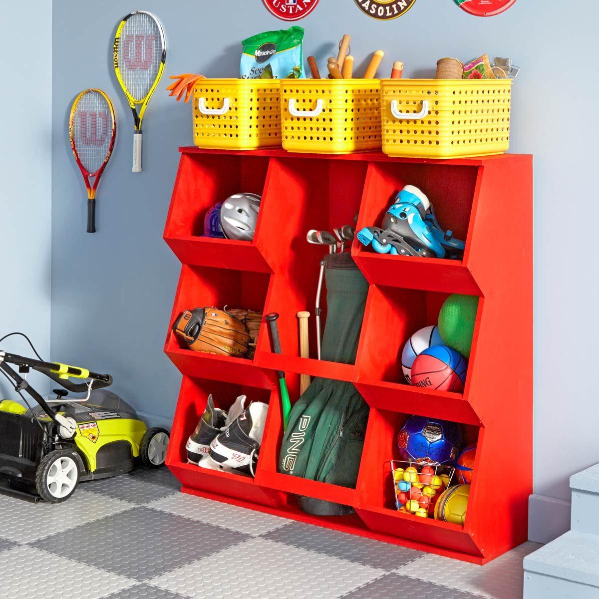 Easy Toy Storage & 11 Ideas for Organizing Your Garage u2014 The Family Handyman