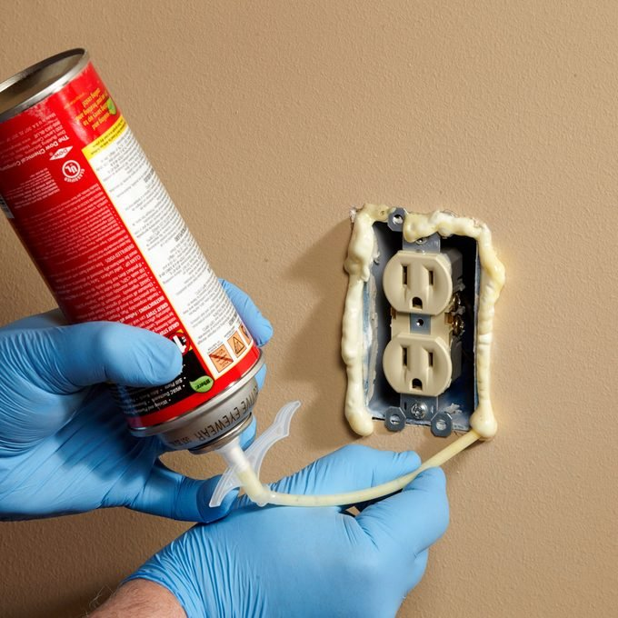 How to Seal Outlets and Ceiling Boxes