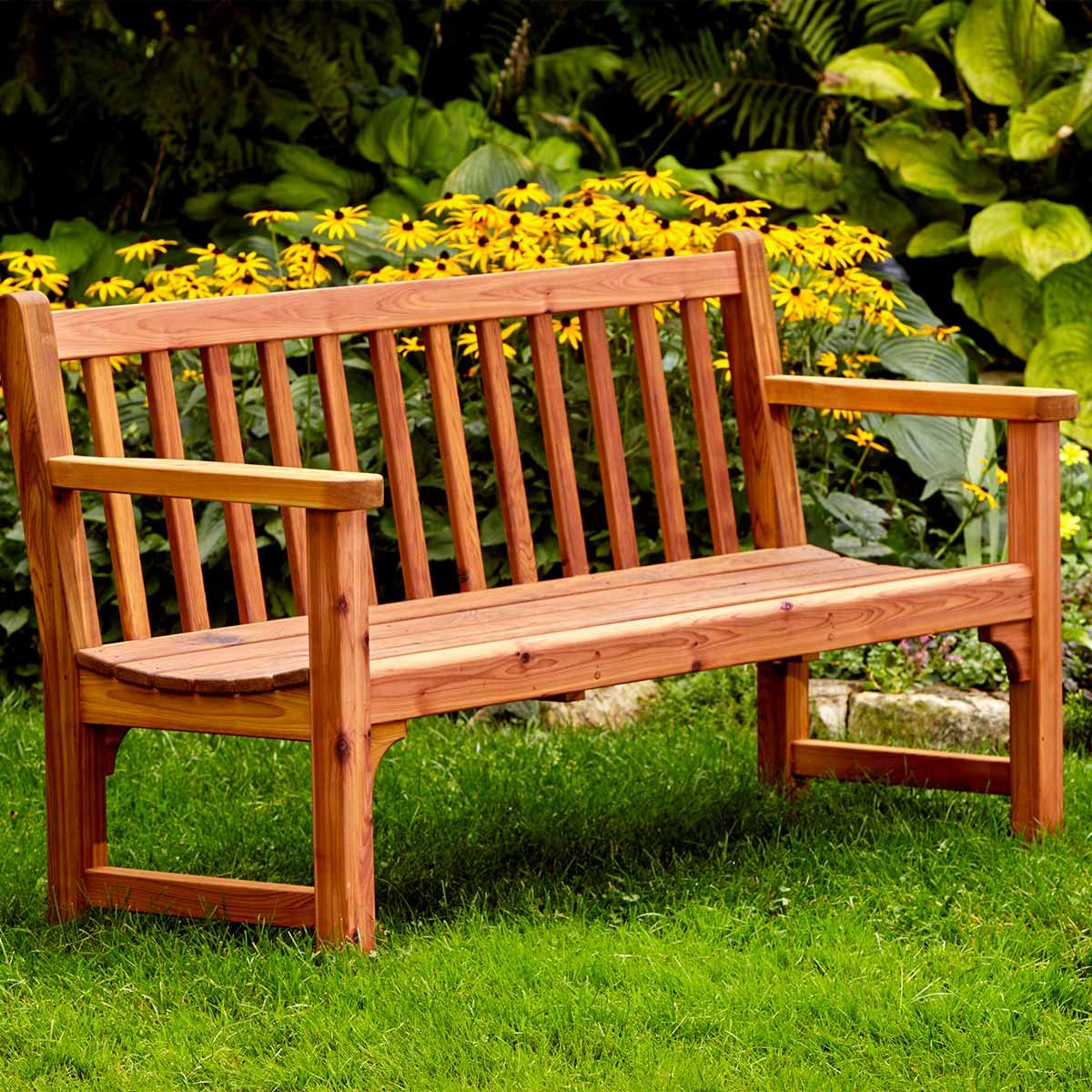 Reader Project Classic Garden Bench The Family Handyman