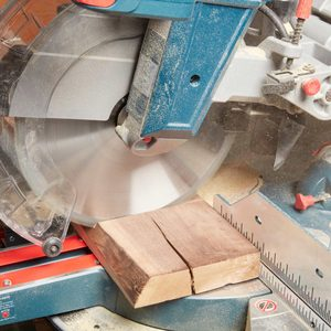 cutting wood with a saw wood crack