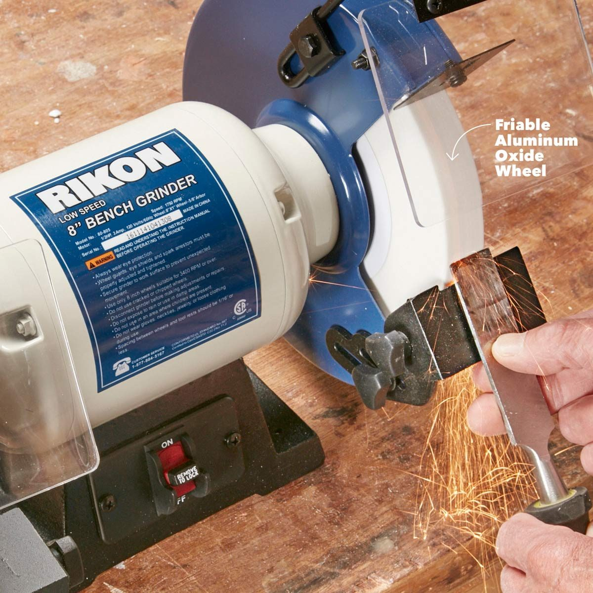 Tremendous Bench Grinder Basics You Need To Know The Family Handyman Pdpeps Interior Chair Design Pdpepsorg