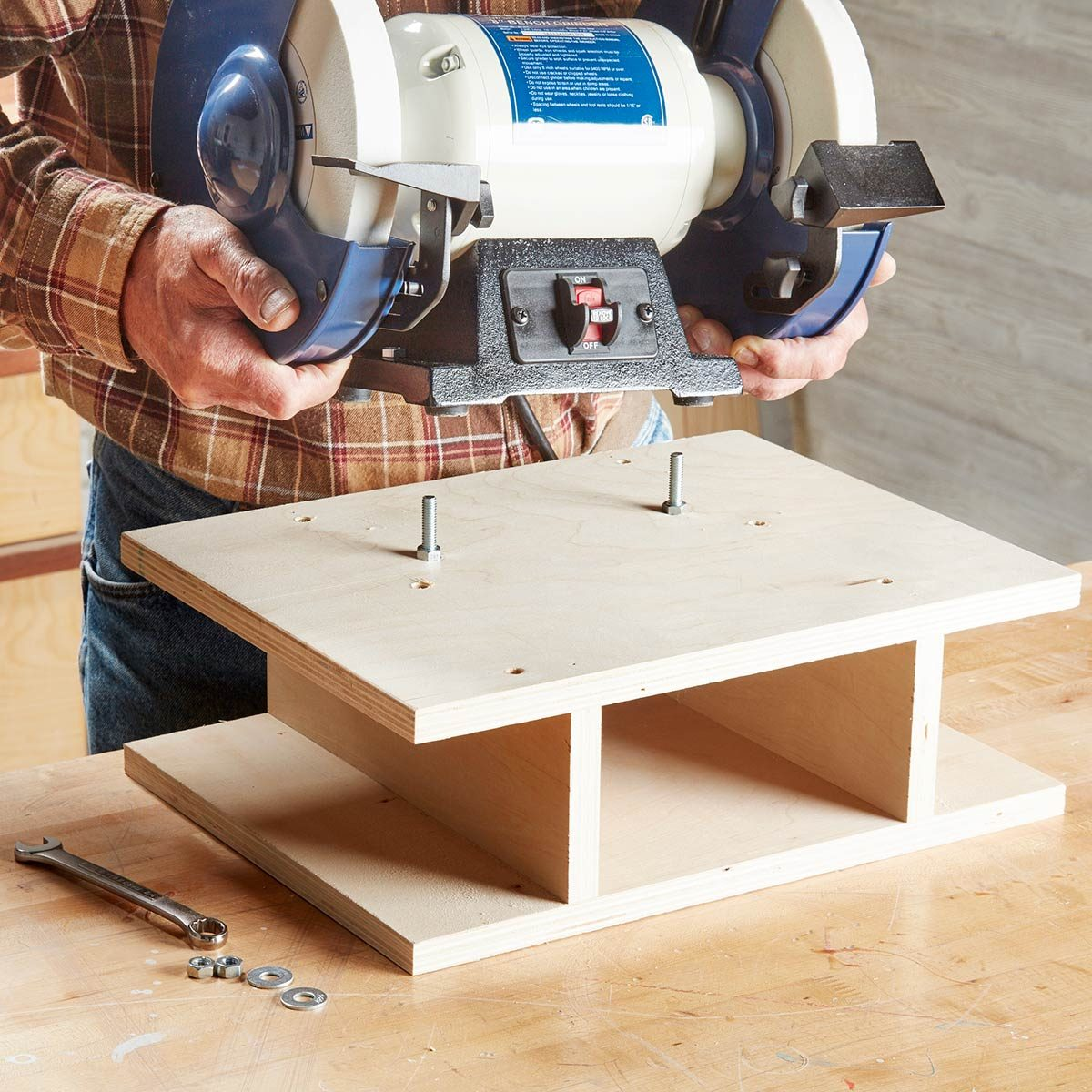 Pleasing Bench Grinder Basics You Need To Know The Family Handyman Alphanode Cool Chair Designs And Ideas Alphanodeonline