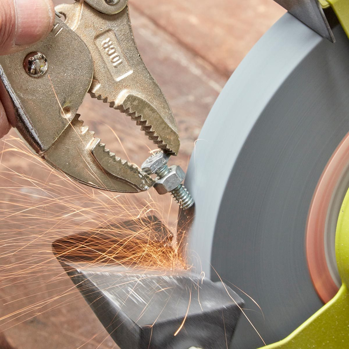 Excellent Bench Grinder Basics You Need To Know The Family Handyman Alphanode Cool Chair Designs And Ideas Alphanodeonline