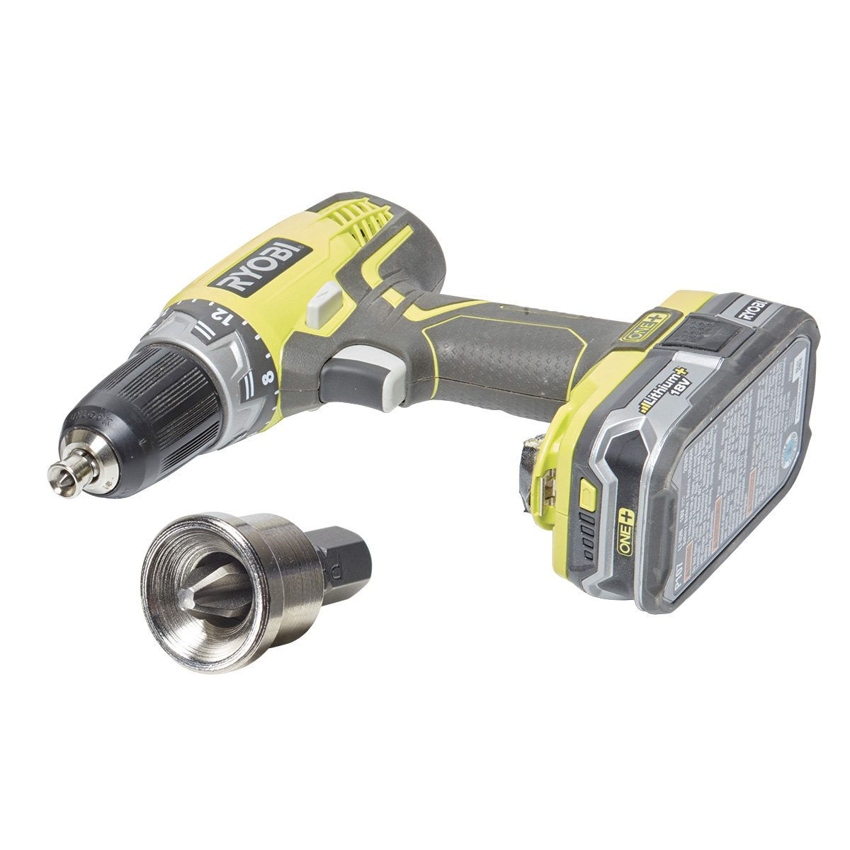 Adapter for cordless drywall screw gun