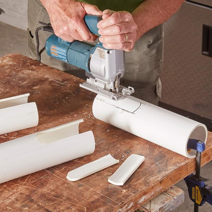 jigsaw cut pvc pipe