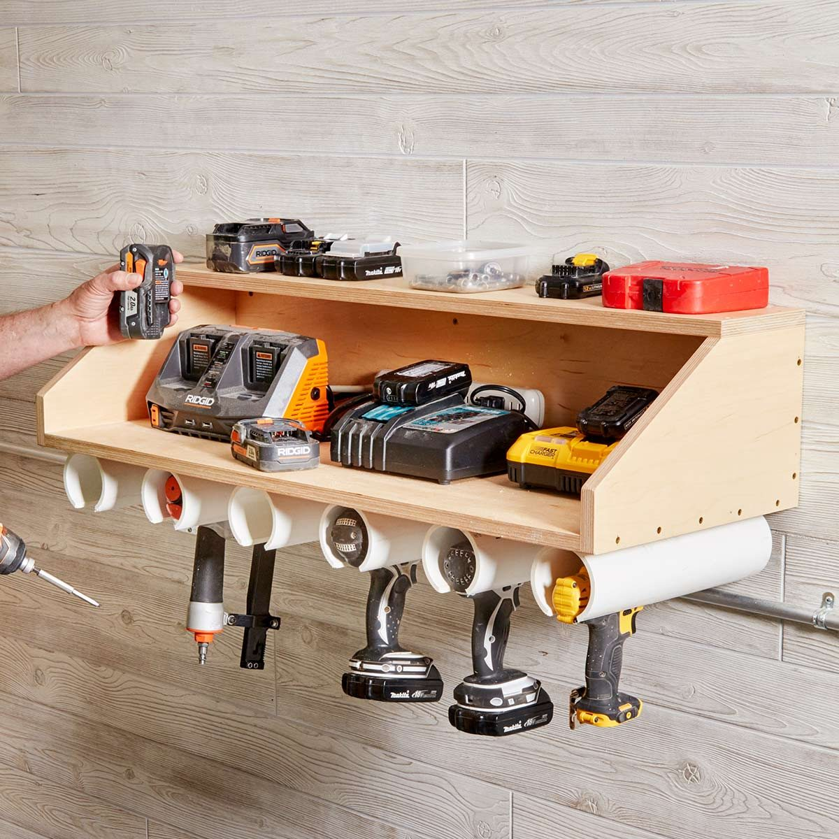 Reader Project Drill Dock The Family Handyman