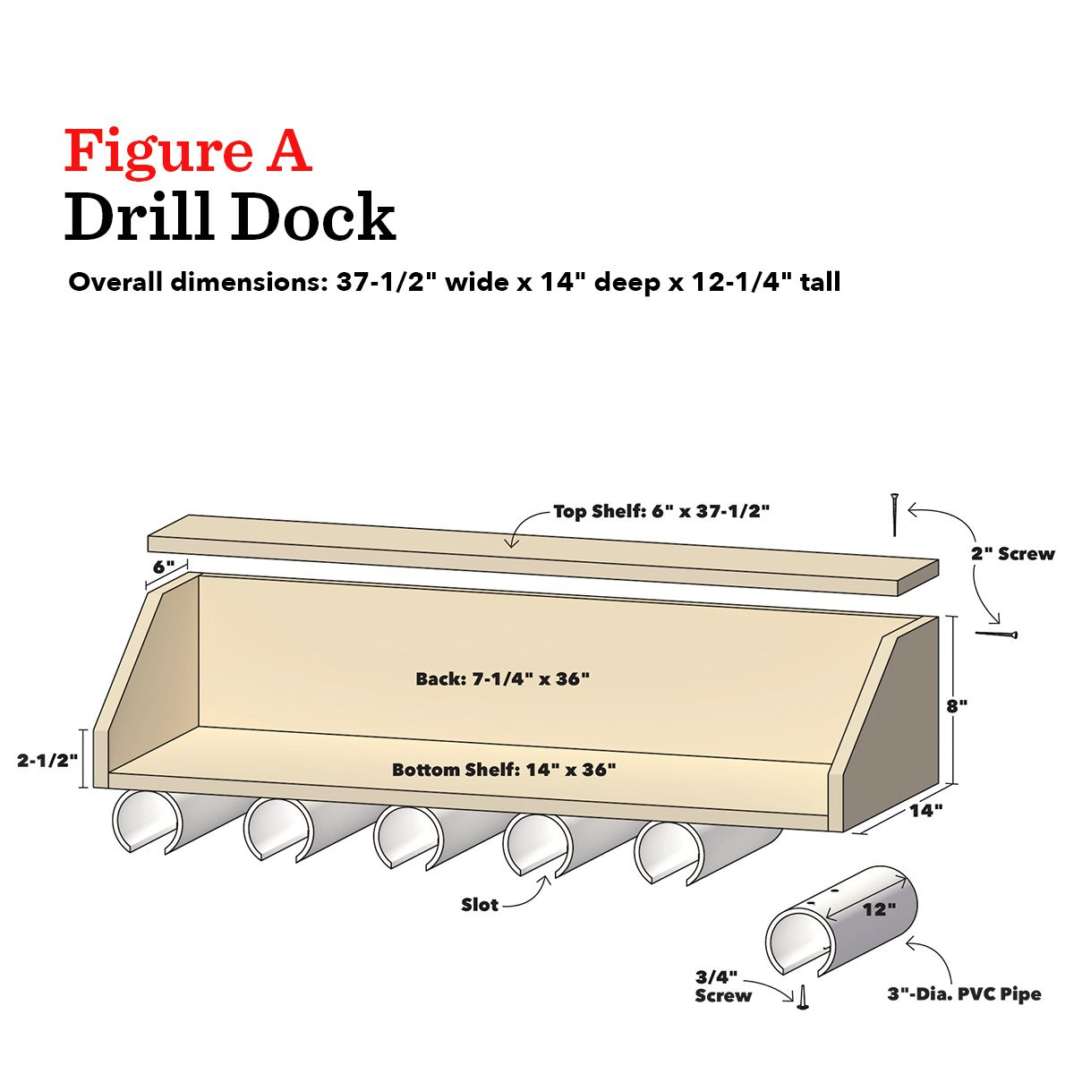 drill doc project dimensions plans