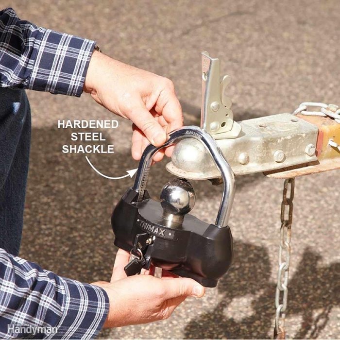 A specialty lock for trailer hitches | Construction Pro Tips