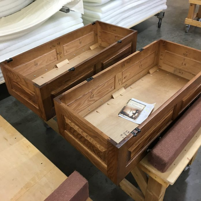 Two child-sized coffins | Construction Pro Tips