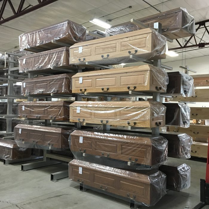 Caskets set aside and ordered | Construction Pro Tips