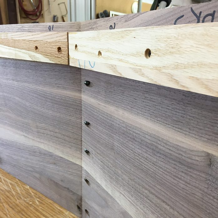 Pocket Screws in a Coffin| Construction Pro Tips