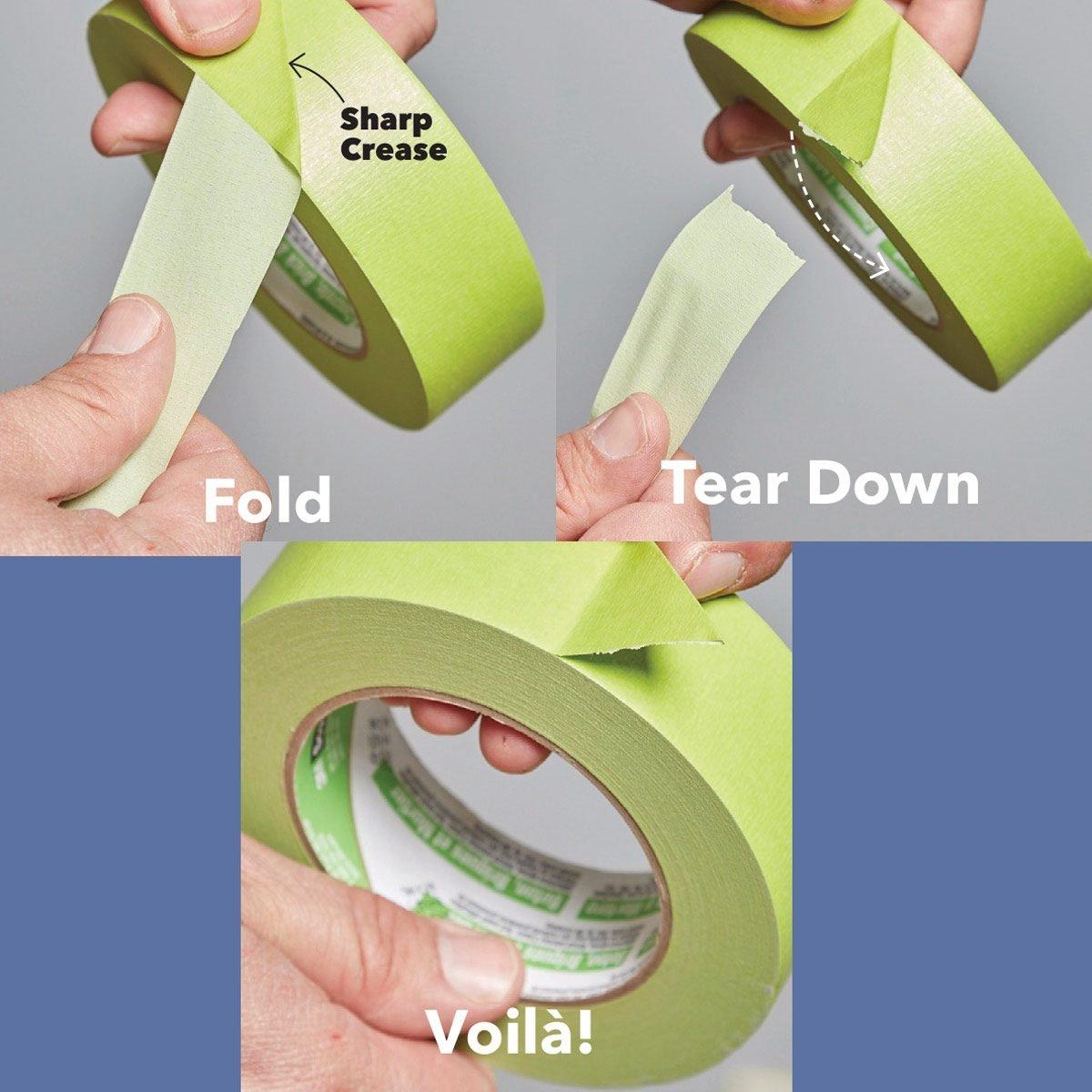 Tape-Tearing Tip
