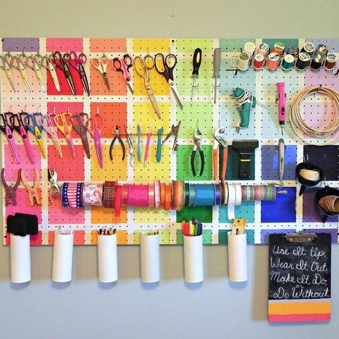 Create a Craft Peg Board
