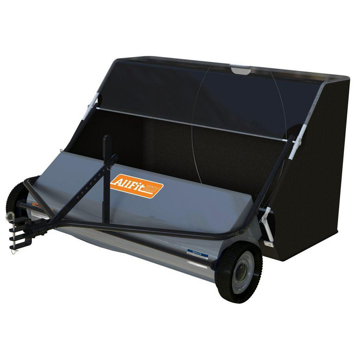 Sweeper for Big Cleanup Projects