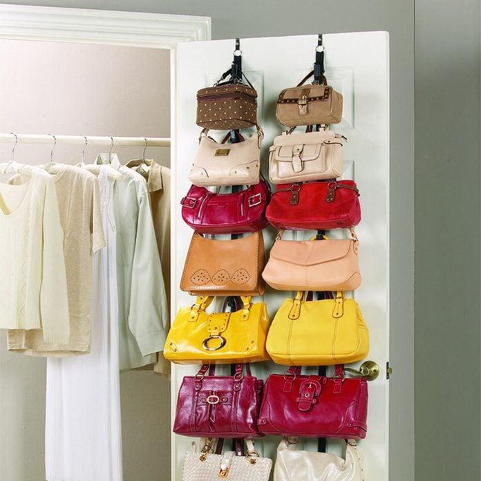 Create a Purse Rack