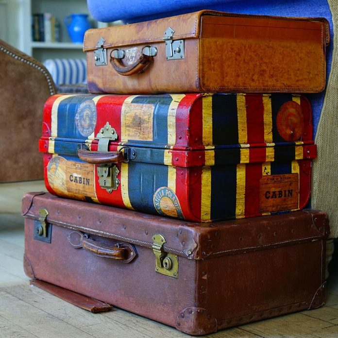 Store in Suitcases
