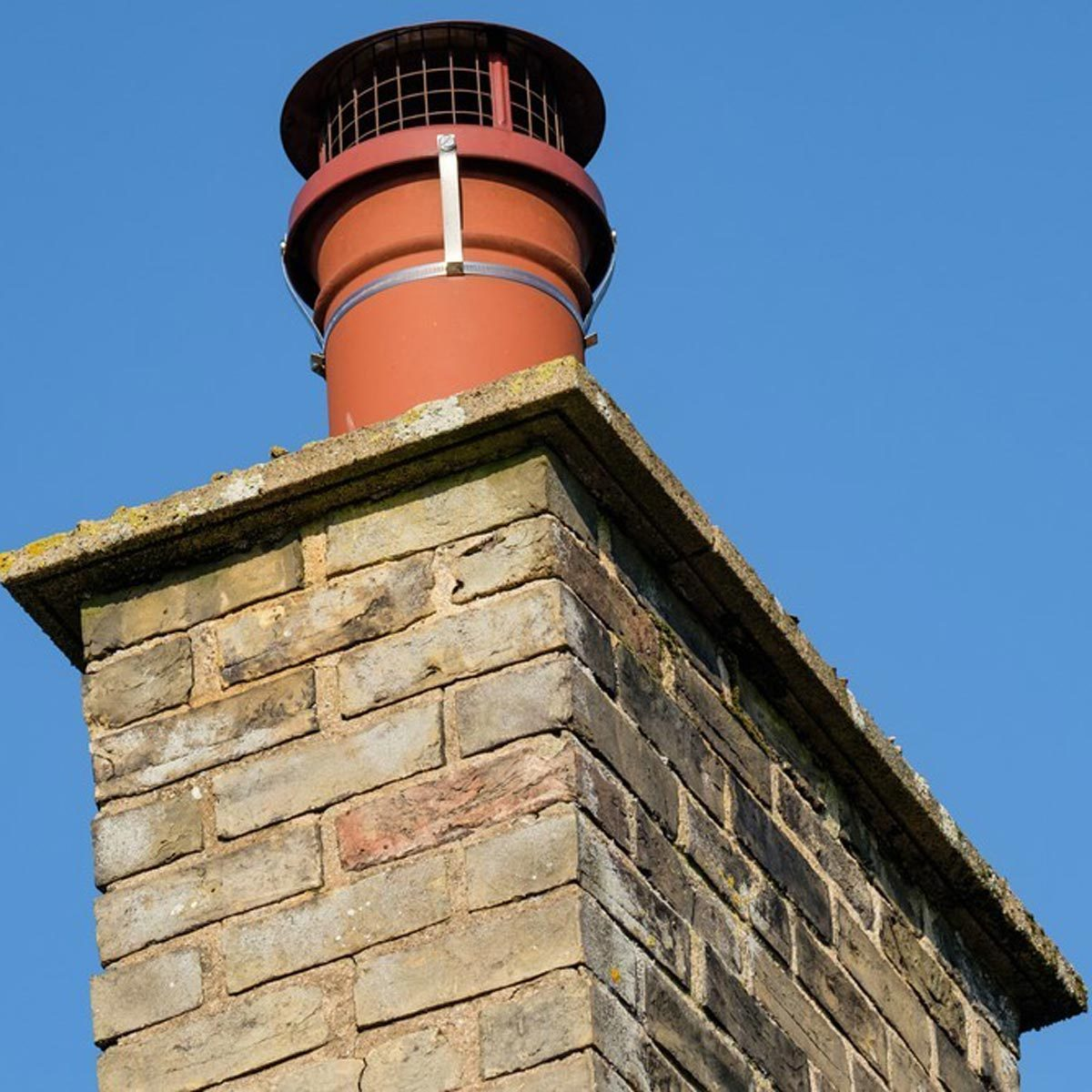 Make Sure the Chimney Exhaust Flue is Clear