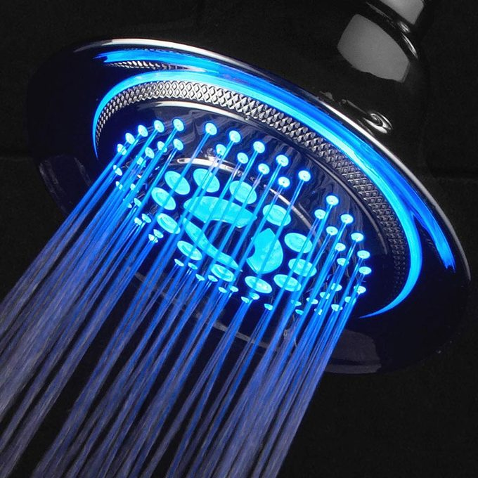 DreamSpa 5-Setting Water Temperature Color-Changing LED Hand Shower