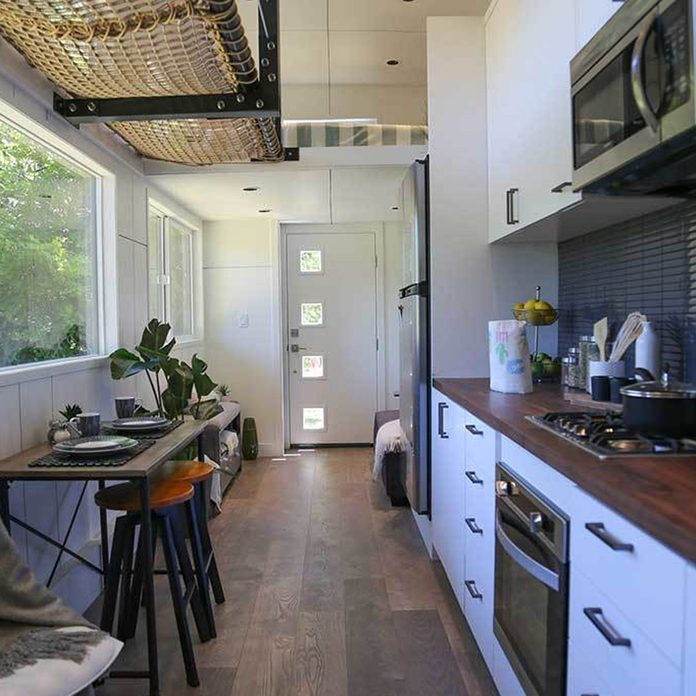 This Tiny Home Kitchen is Roomy