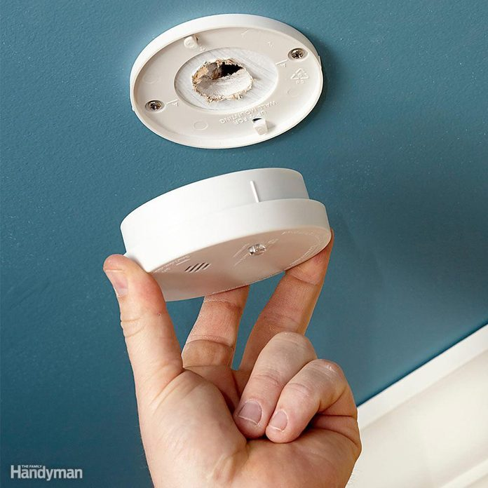 Switch Out Batteries in Your Smoke/Monoxide Detectors