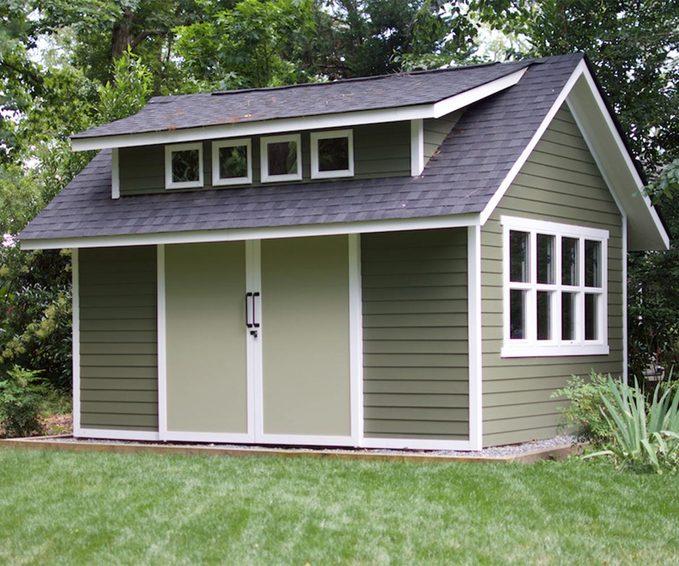 reader green shed