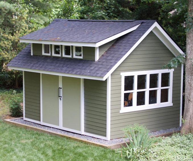 reader green shed garden shed