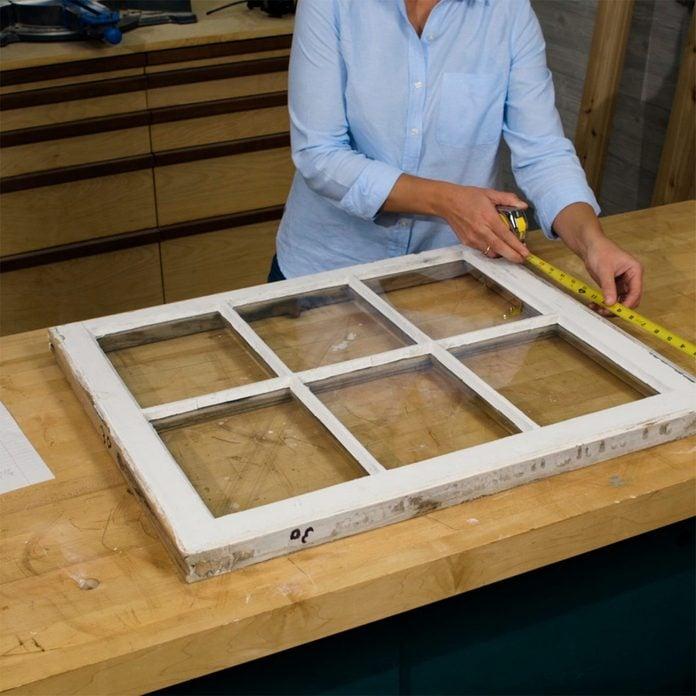 mini greenhouse measure window