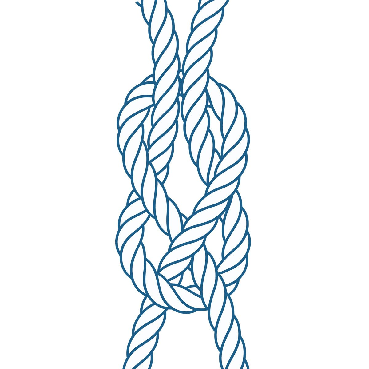 knots-03 sheet bend knot