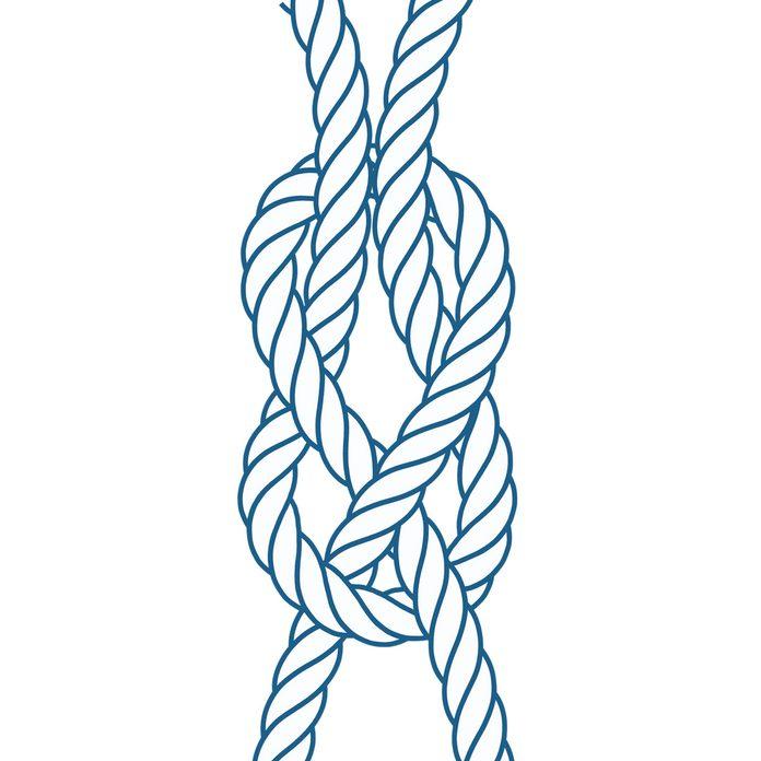 knots-03 sheet bend knot