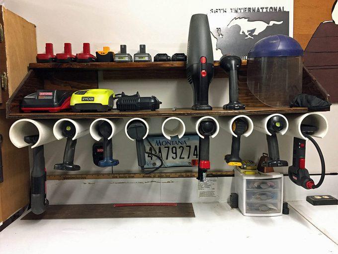 reader drill dock