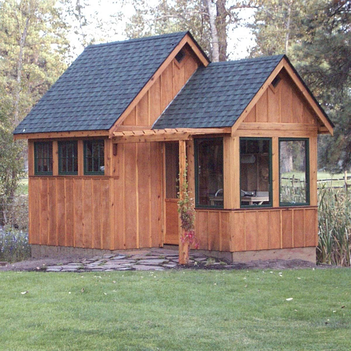 Reader project ultimate garden shed the family handyman for Shed project