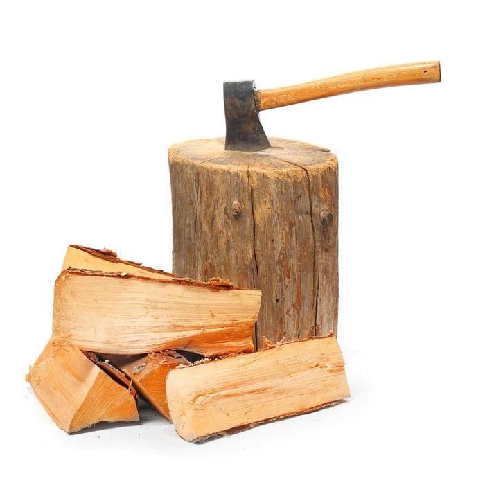 Stockpile Firewood