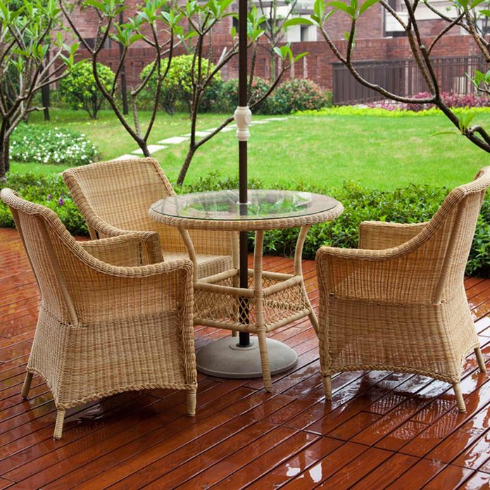 Prepare Your Outdoor Furniture