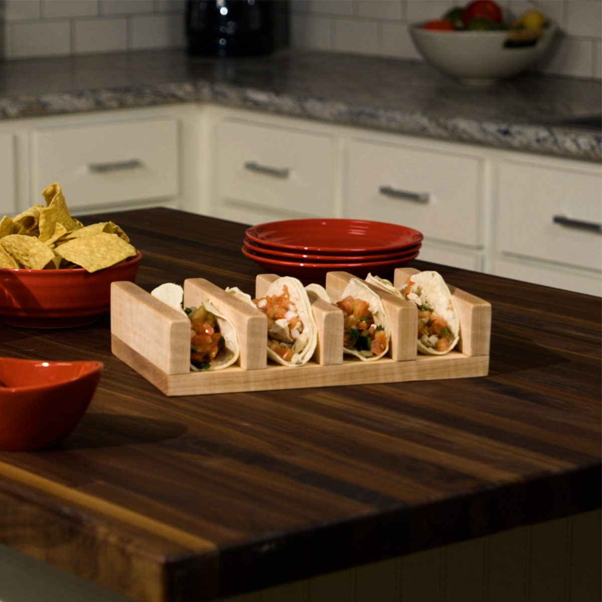 Build A Maple Taco Holder The Family Handyman