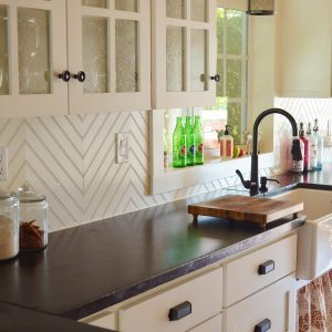 12 Awesome Backsplashes that Aren't Tile