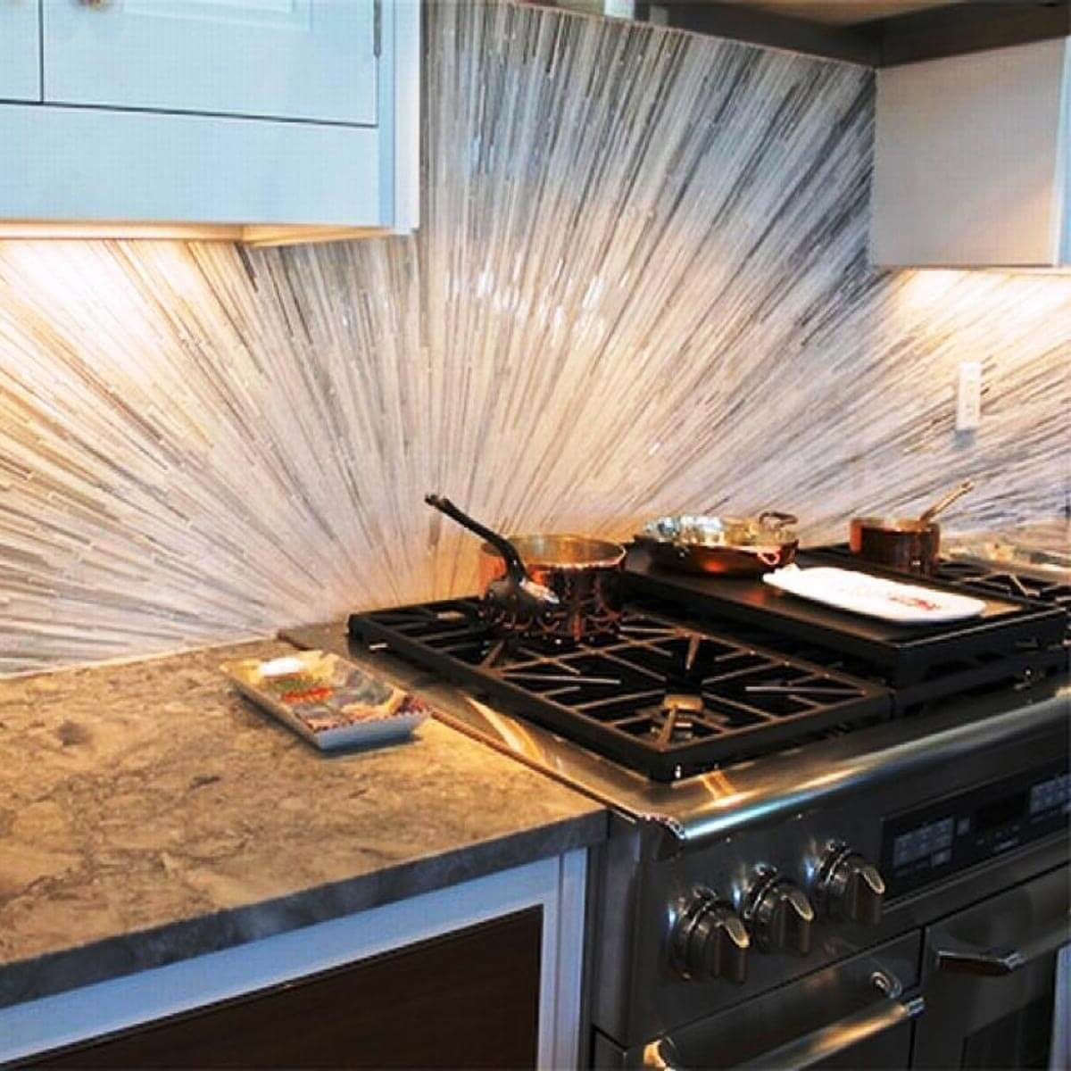 Sunburst & The 30 Backsplash Ideas Your Kitchen Can\u0027t Live Without | The Family ...