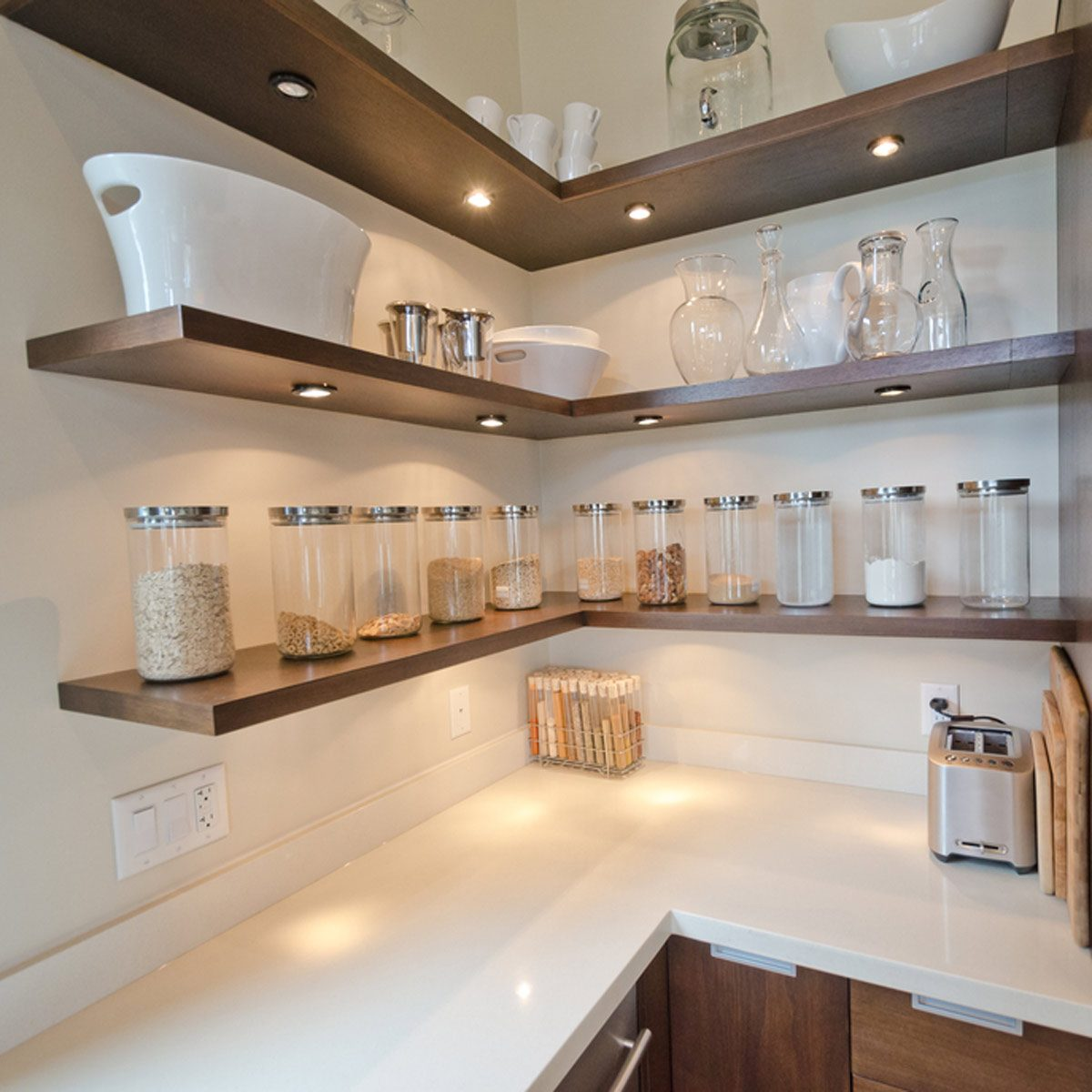 Open Shelf Lighting