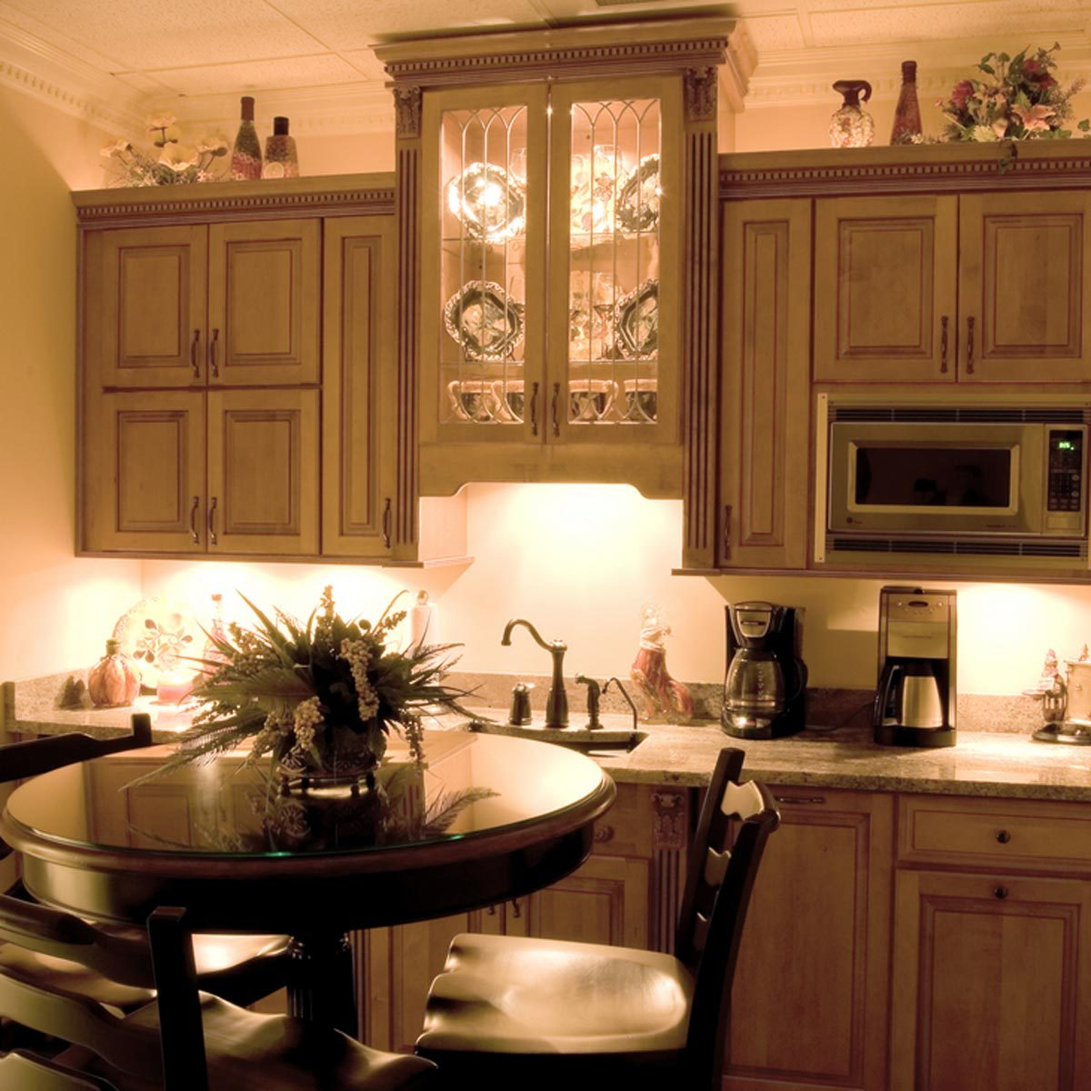 lighting in kitchen. Add Depth With Accents Lighting In Kitchen D