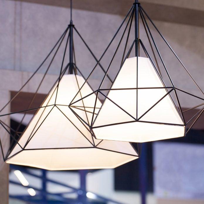 Kitchen Updates: Swap Out Light Fixtures