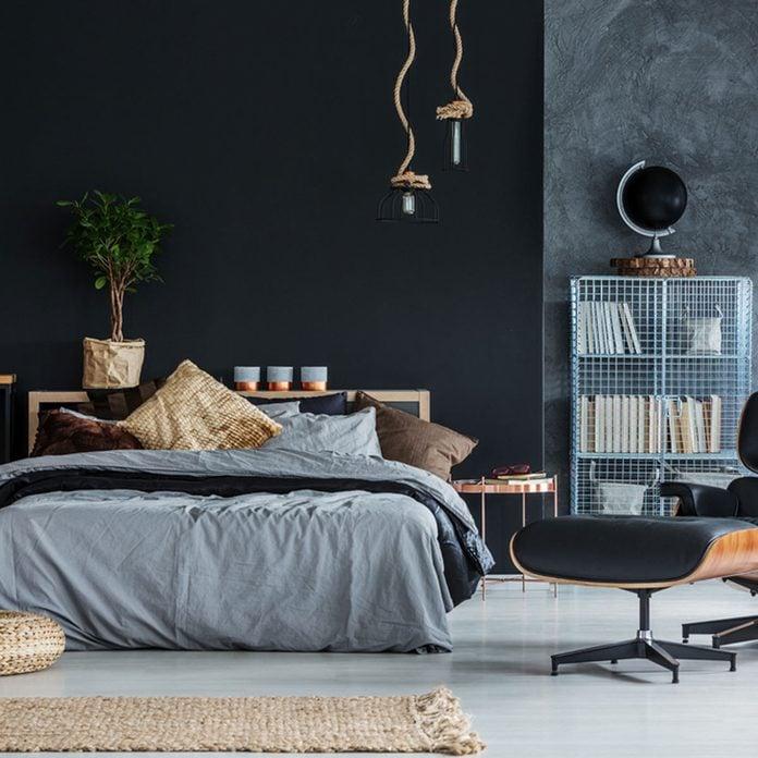 17oct93-2018_675137404_02 black bedroom color wall masculine modern minimalist