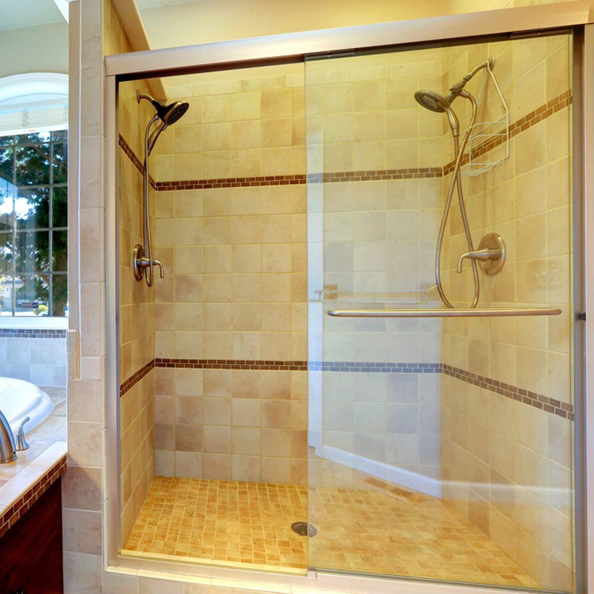 Spray Paint Shower Door Frame Shower Designs