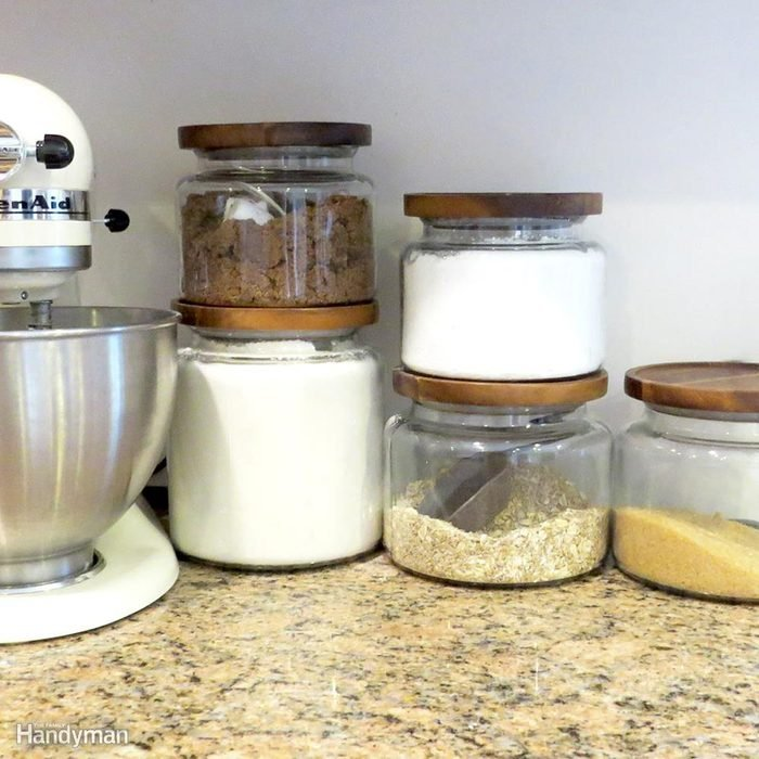Put All Food in Storage Containers