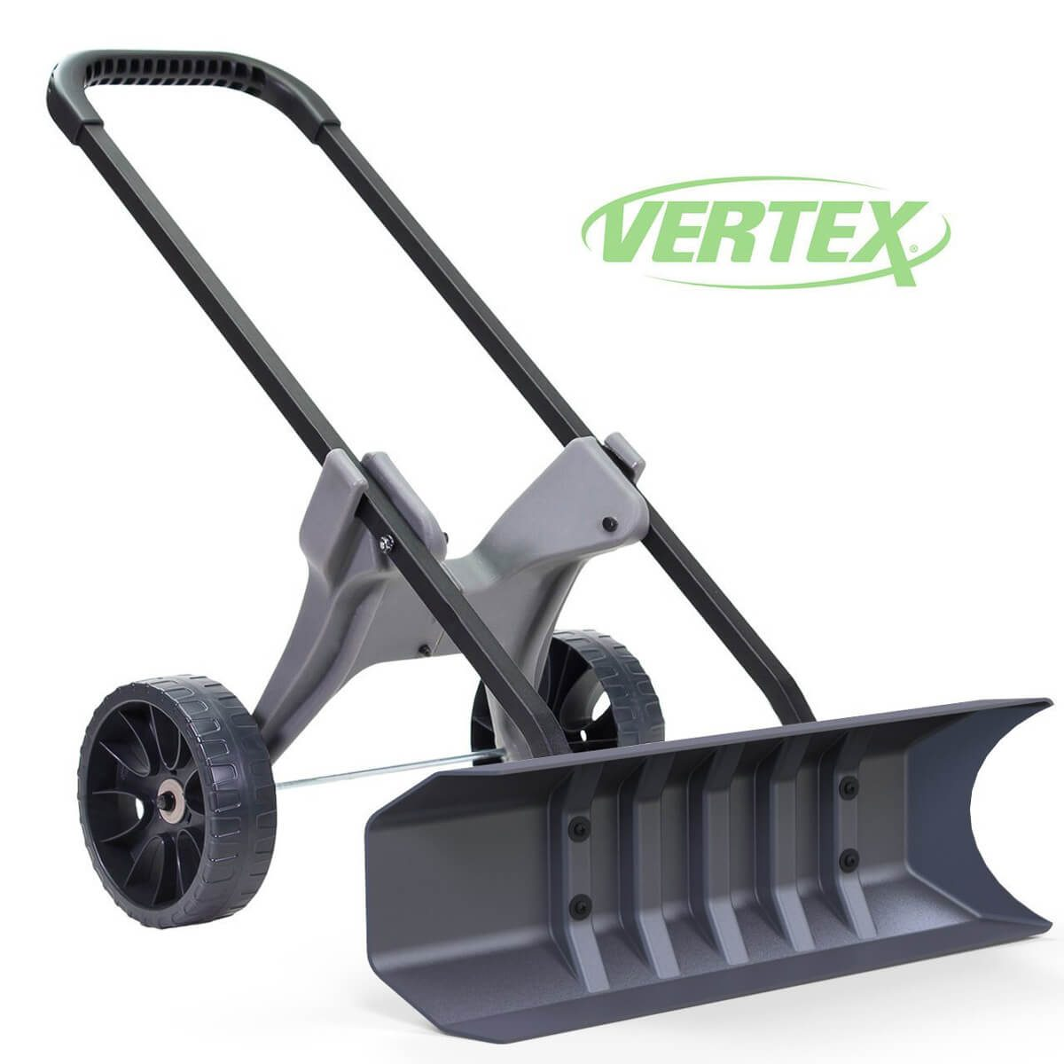Vertex SnoDozer Rolling Snow Shovel on Wheels