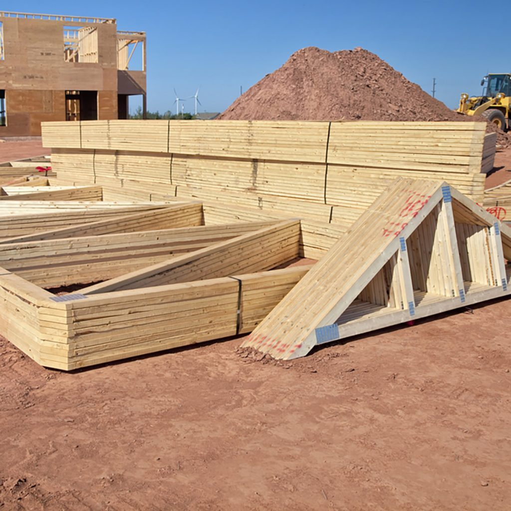 Storing Trusses on Flat Ground | Construction Pro Tips