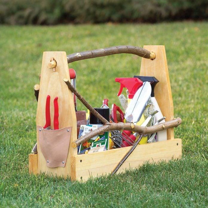 Handmade Garden Toolbox