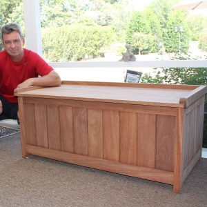 Reader Project: Teak and Cedar Storage Bench