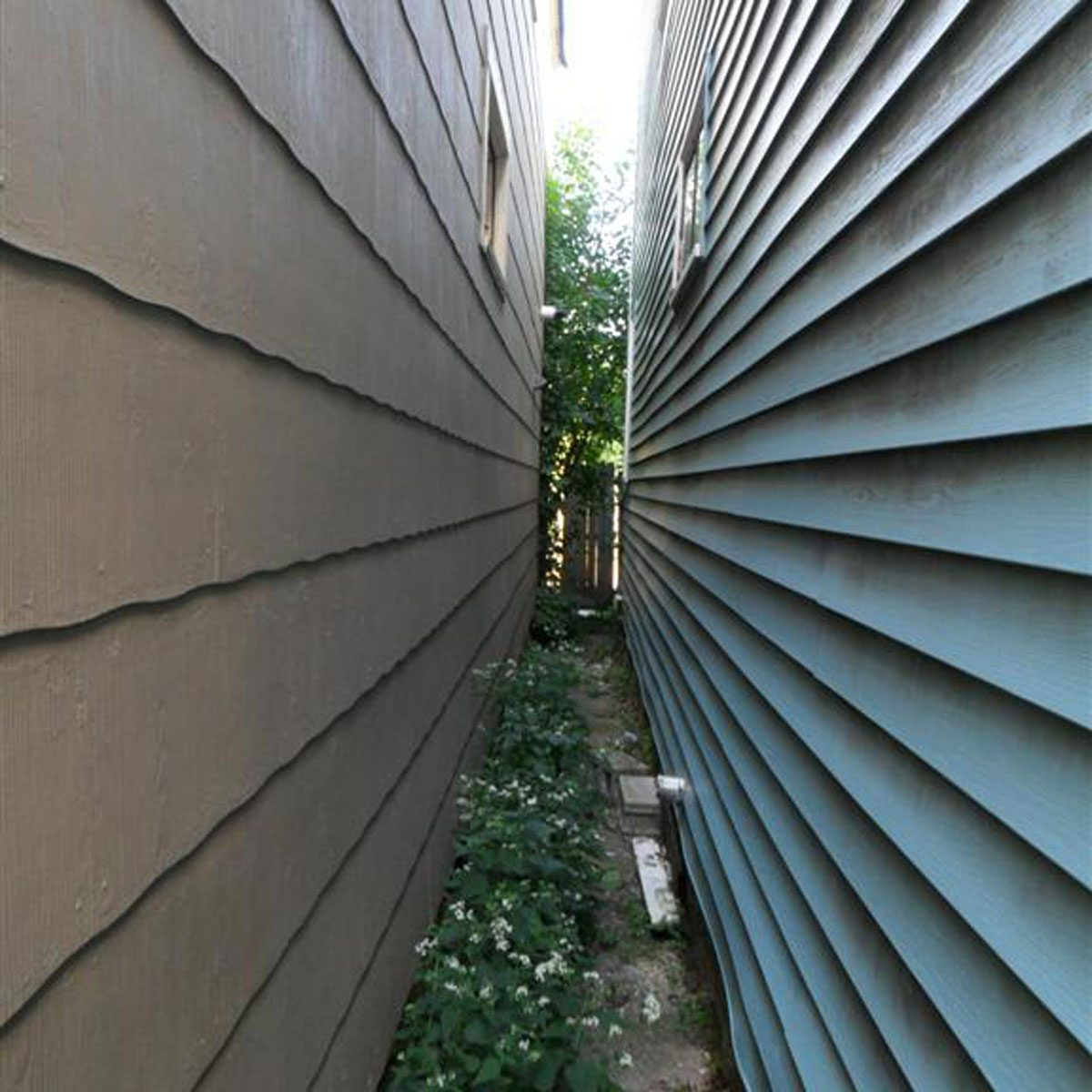A fat siding guys nightmare