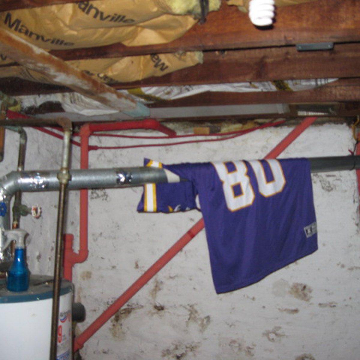 Cris Carter's basement